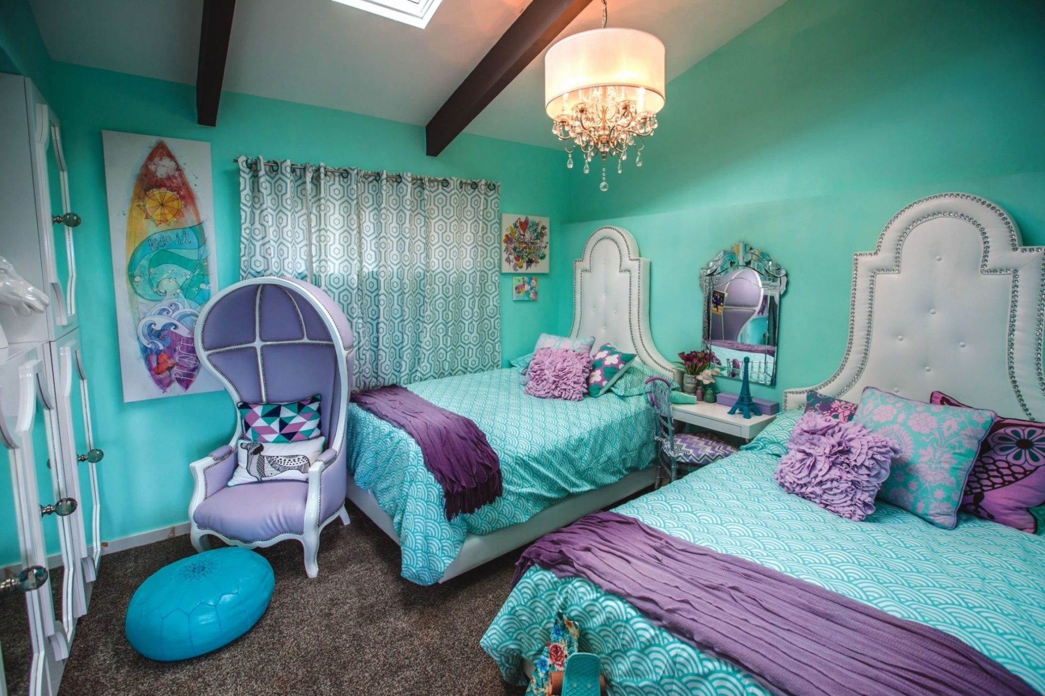 Romantic Purple Bedroom Ideas