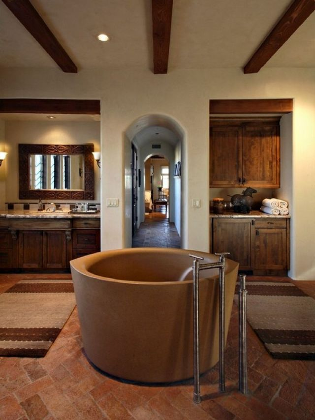 03 Astonishing Mediterranean Bathroom
