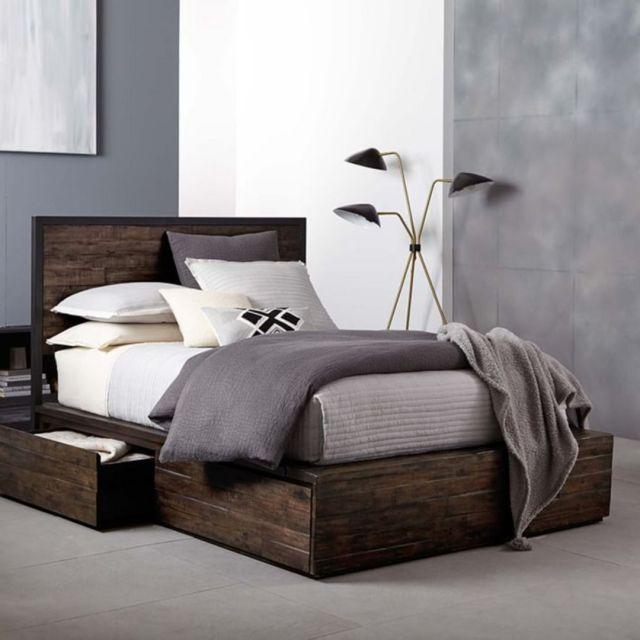 03 Trendy Industrial Bedroom Design Ideas