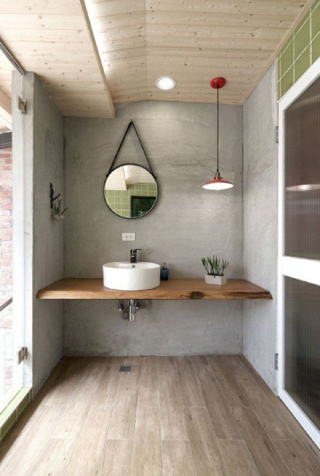 1 Great Looking Industrial Design Bathroom