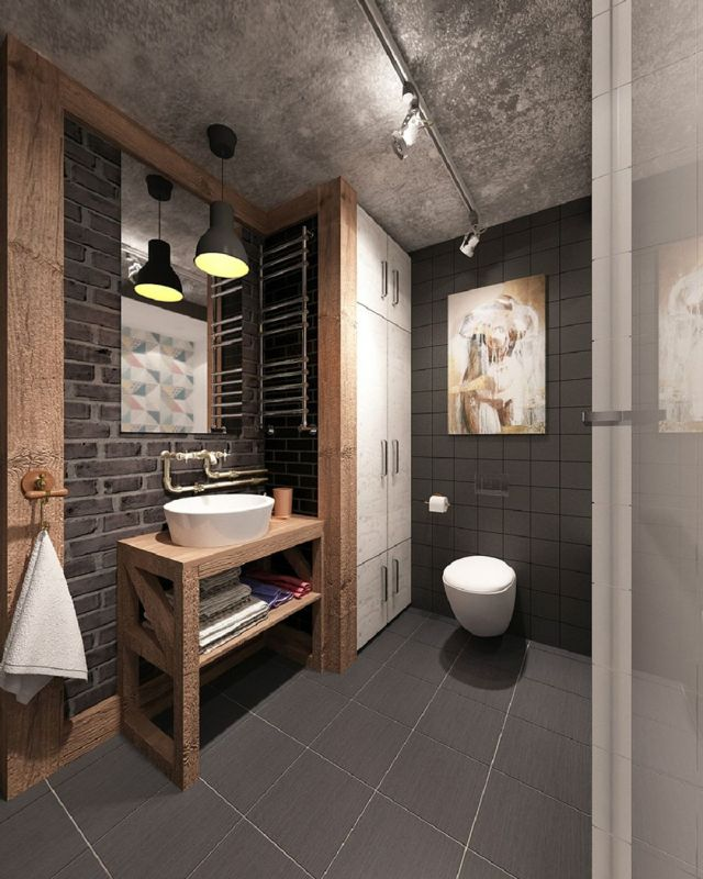 1 Industrial Style Bathrooms Plus Ideas