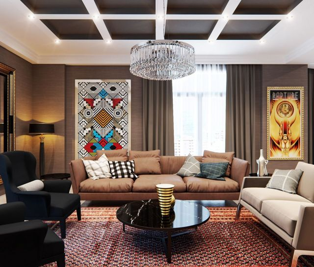 Classic Apartment Design Ideas 4
