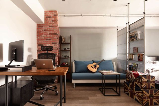 Industrial Apartment Style Design Ideas 1