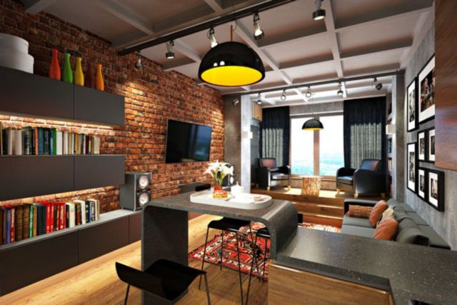 Industrial Apartment Style Design Ideas 5