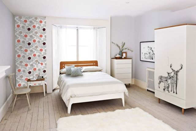 Modern Scandinavian Bedroom Design Ideas 3