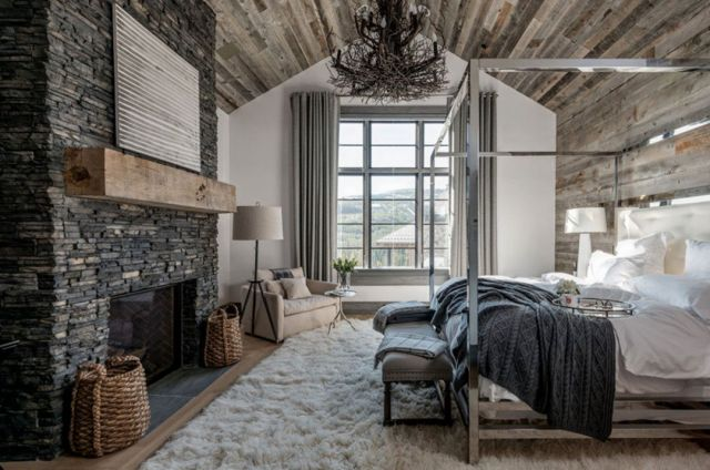 Scandinavian Rustic Bedroom Design Ideas 1