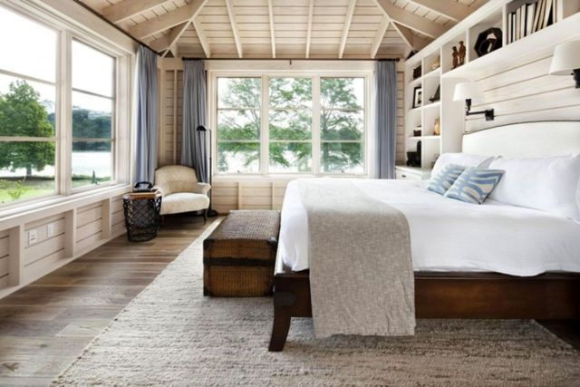 Scandinavian Rustic Bedroom Design Ideas 4