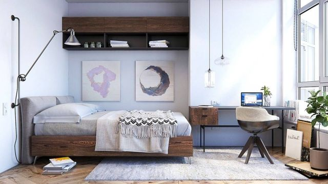 Scandinavia Industrial Bedroom Design Ideas 5