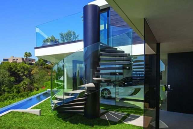 Modern Outdoor Stairs Design 3