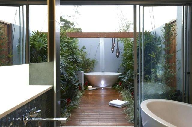 Modern Outdoor Bathroom 5