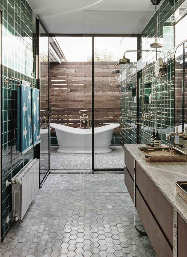 Industrial Style Outdoor Bathroom 1