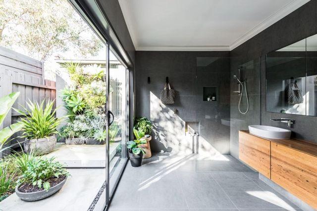 Industrial Style Outdoor Bathroom 5