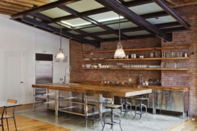 Industrial Style Outdoor Kitchen 2