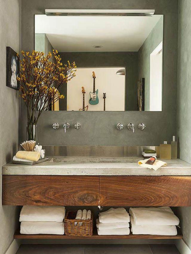 5 Style House Vanity in a Modern Bathroom