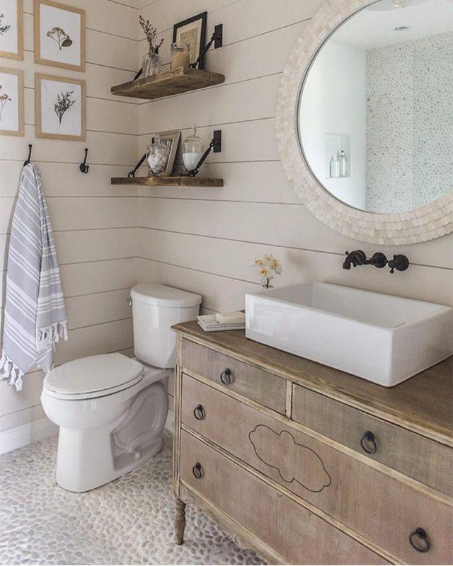 9 Dreamy Farmhouse, Bathroom with Ship Sink