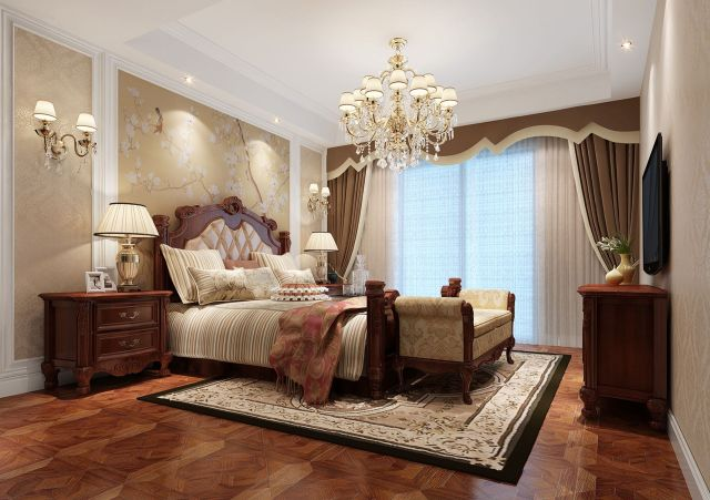 Classic Style Bedroom Decoration Ideas 2