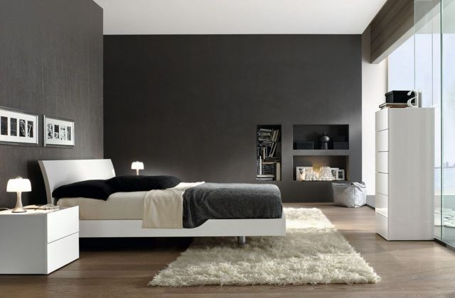 Modern Minimalist Style Bedroom Decoration Ideas 1