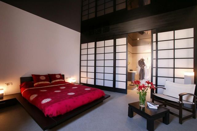 Decorating Ideas Modern Japanese style bedrooms 5
