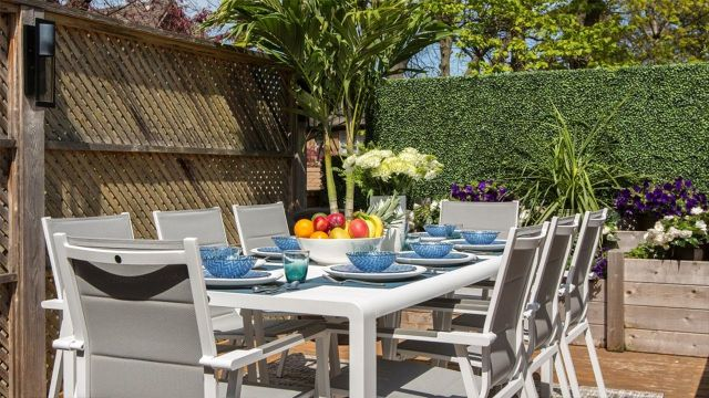 1 Set Up the Ultimate Outdoor Dining Table