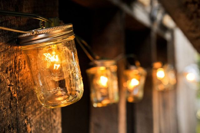 2 Make Mason Jar Luminaries