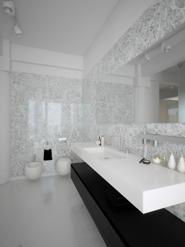 3 Coolest Minimalist Modern Bathroom