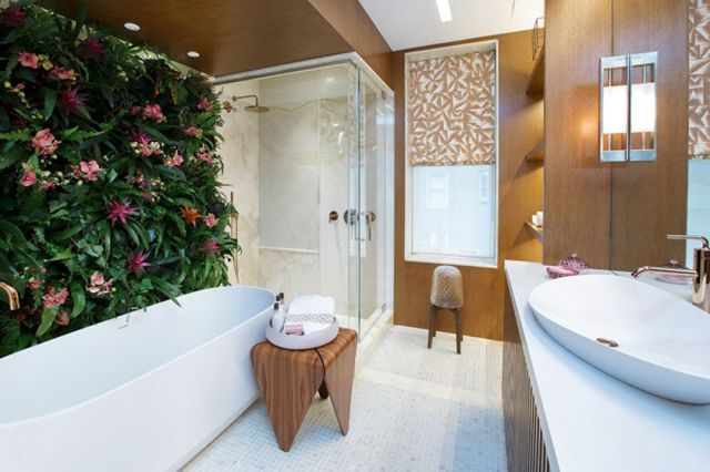 Indoor Garden in the Bathroom Area 2
