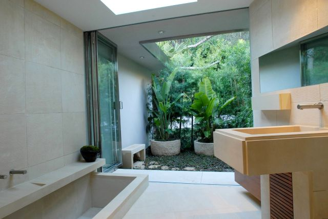 Indoor Garden in the Bathroom Area 3
