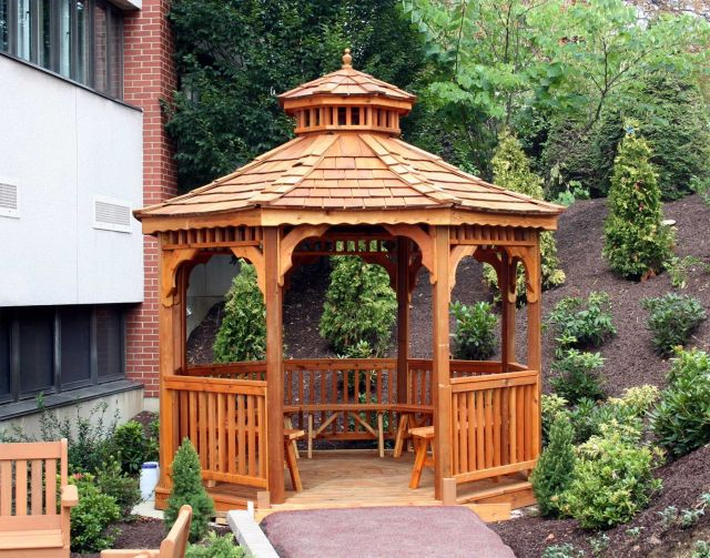 Gazebo with Pavilion Design