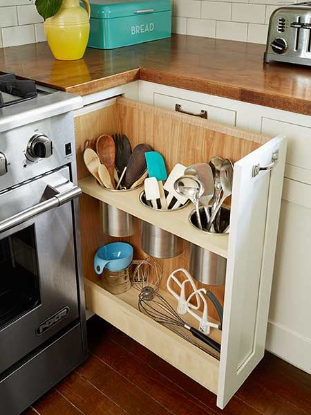 Kitchen Cabinet Curtain Ideas
