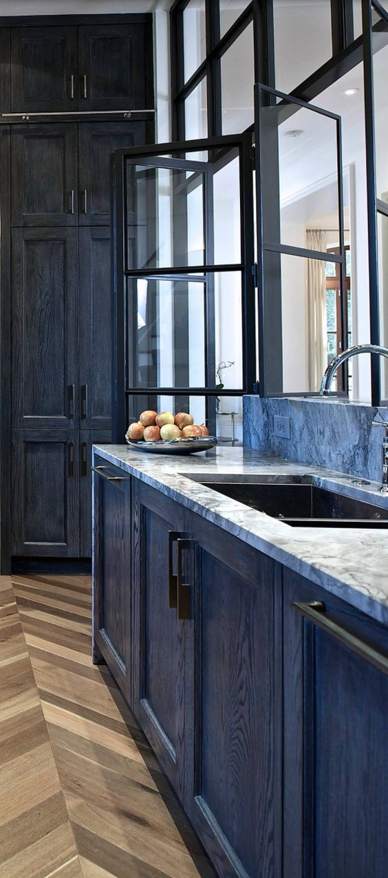 Aqua Blue Kitchen Cabinets