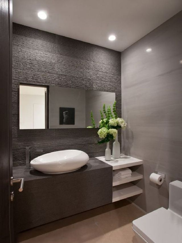 2 Luxurious Powder Room Decorating Ideas