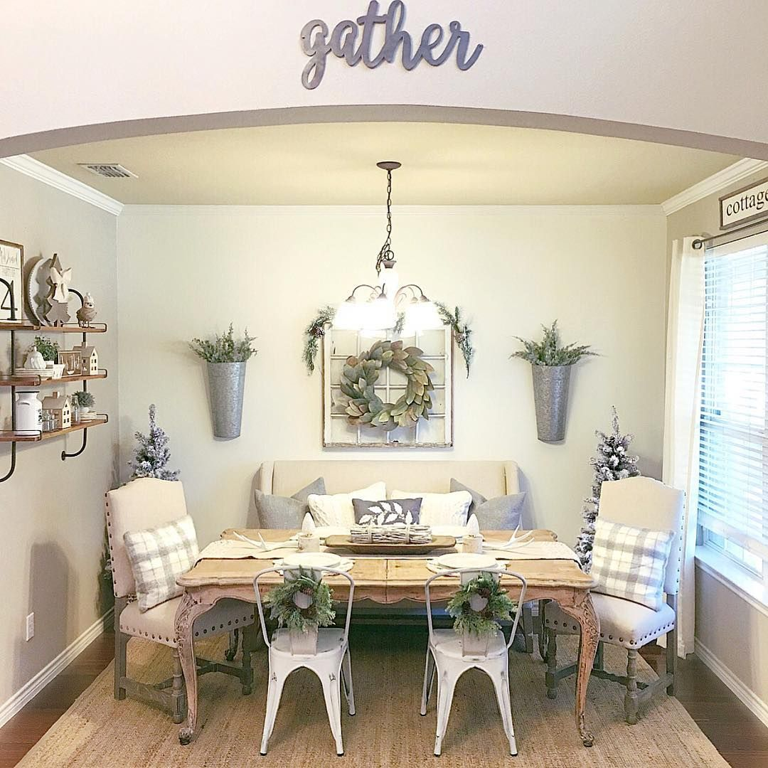Enhance Dinning Room With Farmhouse Table 74