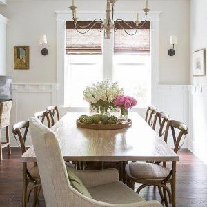Enhance Dinning Room With Farmhouse Table 75