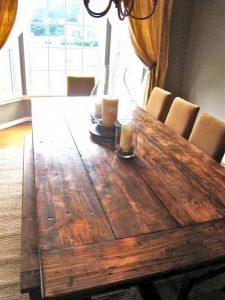 Enhance Dinning Room With Farmhouse Table 78