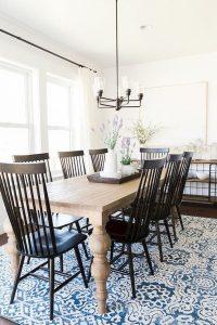 Enhance Dinning Room With Farmhouse Table 80
