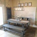 Enhance Dinning Room With Farmhouse Table 84