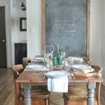 Enhance Dinning Room With Farmhouse Table 88