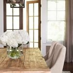 Enhance Dinning Room With Farmhouse Table 92