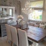 Enhance Dinning Room With Farmhouse Table 100