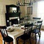 Enhance Dinning Room With Farmhouse Table 103