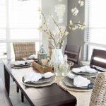 Enhance Dinning Room With Farmhouse Table 104