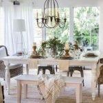 Enhance Dinning Room With Farmhouse Table 107