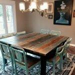 Enhance Dinning Room With Farmhouse Table 108