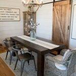Enhance Dinning Room With Farmhouse Table 110