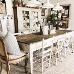Enhance Dinning Room With Farmhouse Table 116