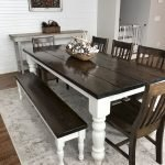 Enhance Dinning Room With Farmhouse Table 117