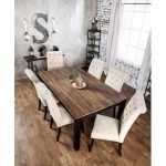 Enhance Dinning Room With Farmhouse Table 120