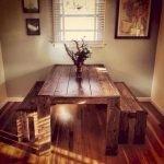 Enhance Dinning Room With Farmhouse Table 128