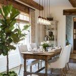 Enhance Dinning Room With Farmhouse Table 132