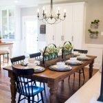 Enhance Dinning Room With Farmhouse Table 135